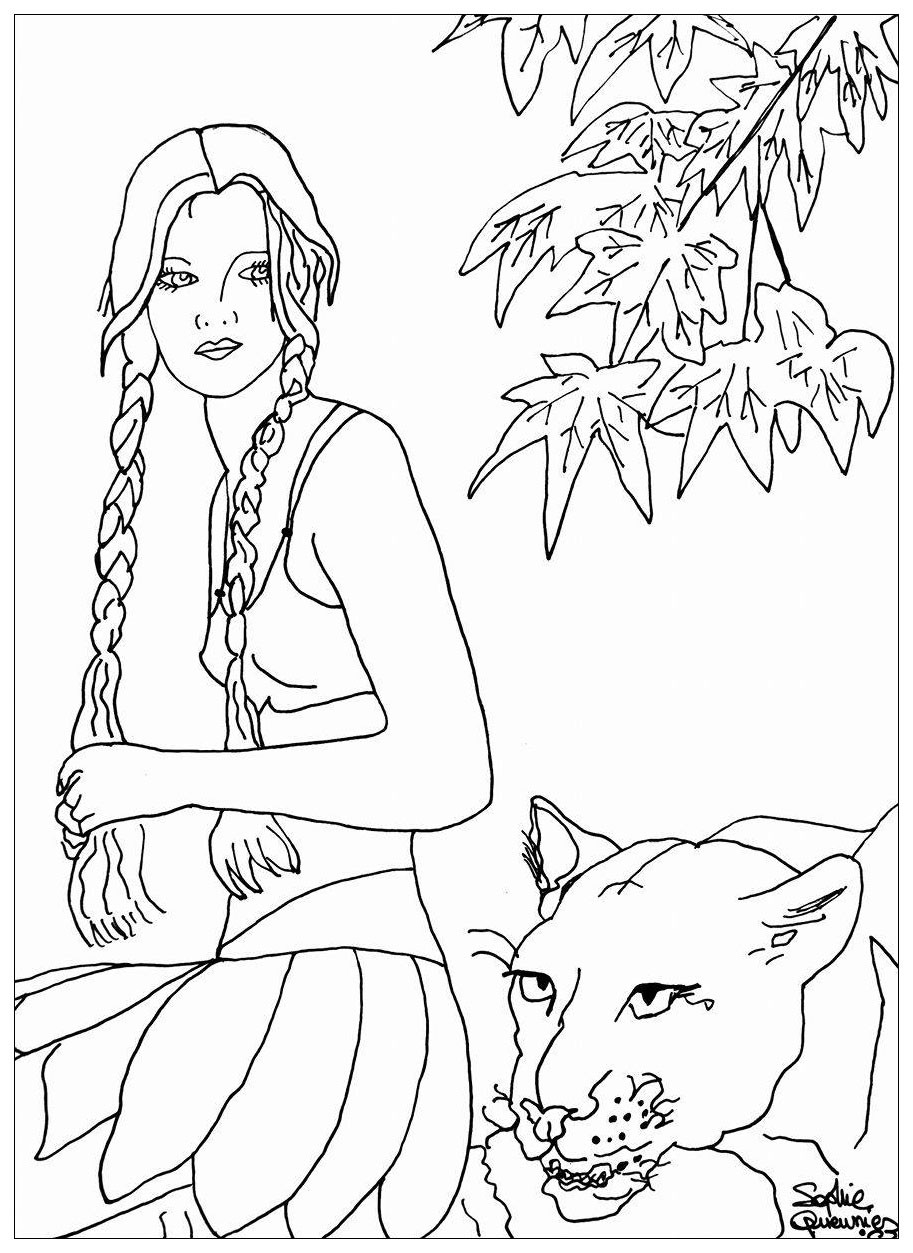 coloring pages of african women african woman drawing at getdrawings free download coloring women pages of african