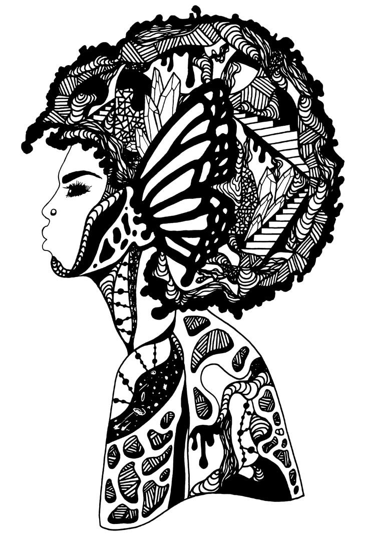coloring pages of african women afro clipart coloring page afro coloring page transparent women of african coloring pages