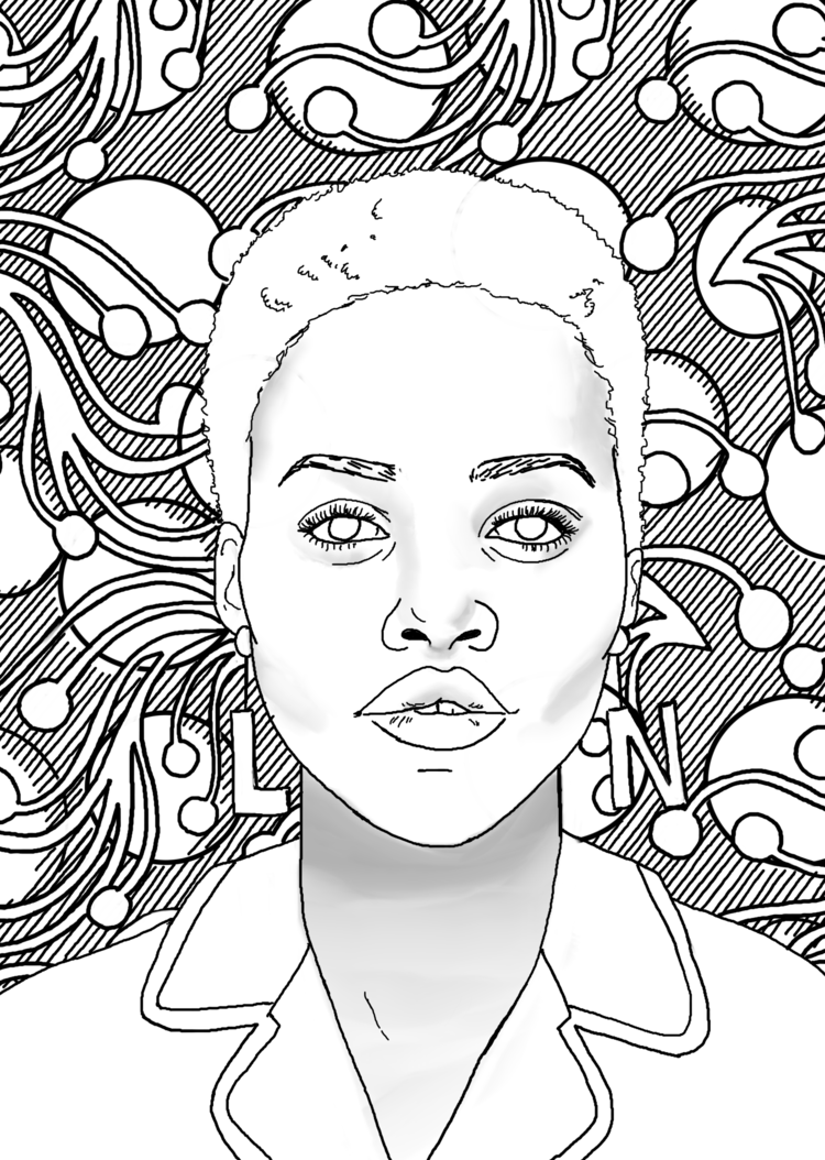 coloring pages of african women black women coloring pages at getdrawings free download women african coloring of pages