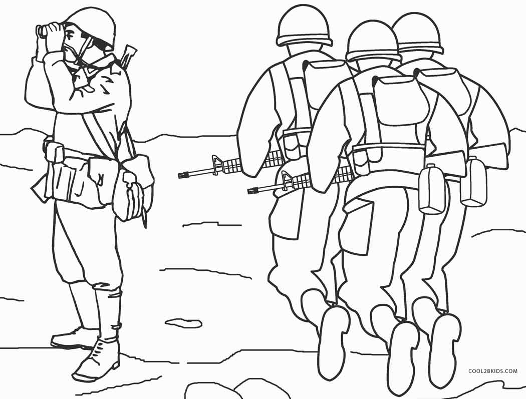 coloring pages of army soldiers army coloring pages of coloring soldiers pages army