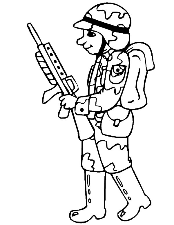 coloring pages of army soldiers military coloring pages for kids coloring home soldiers coloring of pages army