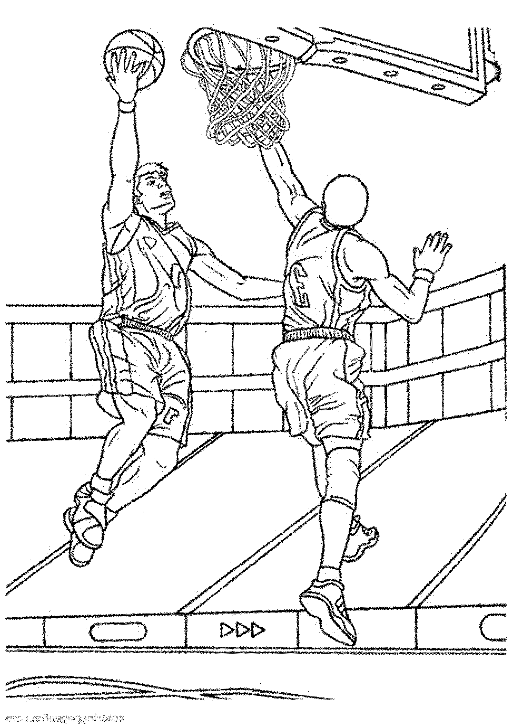 coloring pages of basketball 30 free printable basketball coloring pages pages of coloring basketball