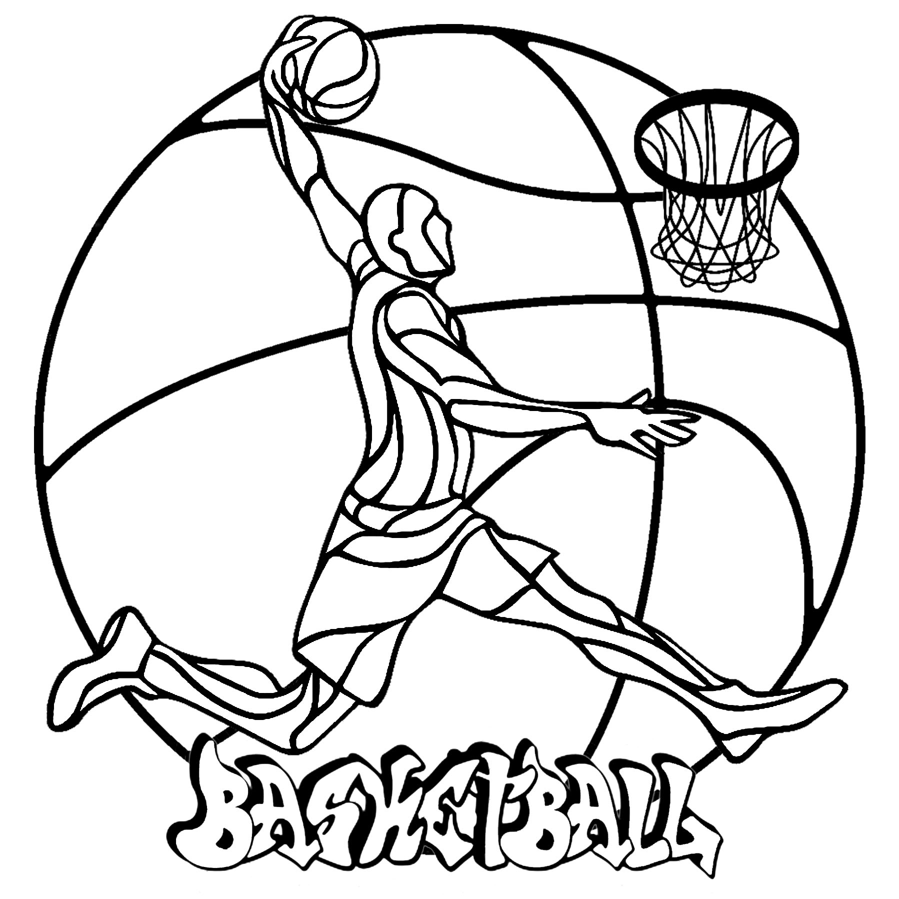 coloring pages of basketball basketball coloring pages free download on clipartmag coloring of basketball pages