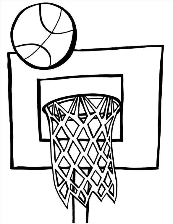 coloring pages of basketball basketball coloring pages printable coloring home of coloring basketball pages