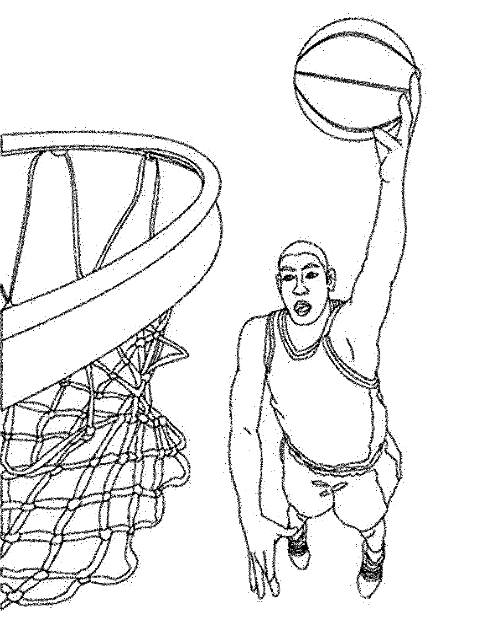 coloring pages of basketball basketball for kids basketball kids coloring pages coloring basketball pages of