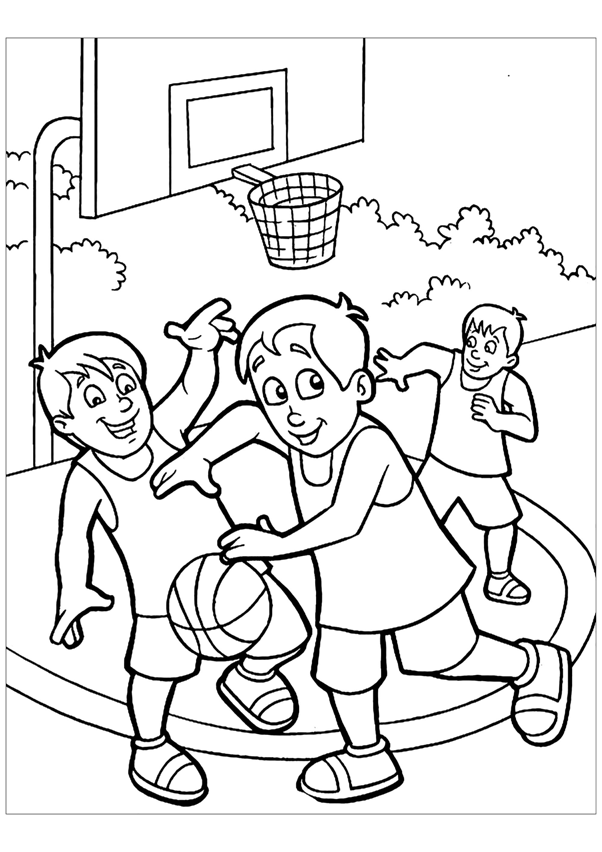 coloring pages of basketball basketball to download basketball kids coloring pages coloring of basketball pages