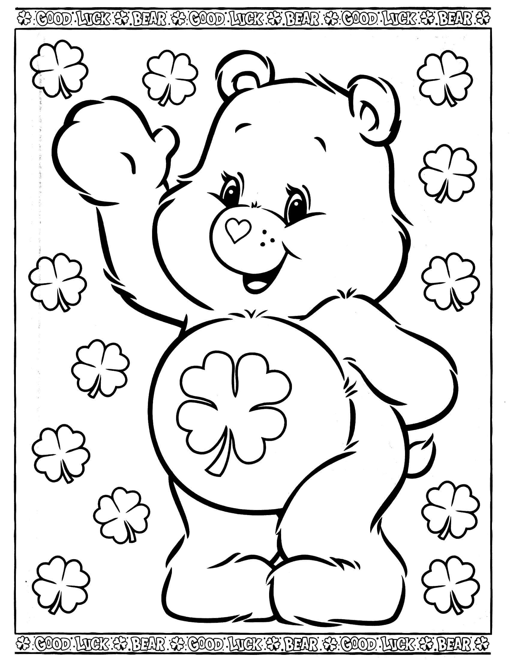 coloring pages of bears care bears 29 coloringcolorcom coloring bears of pages