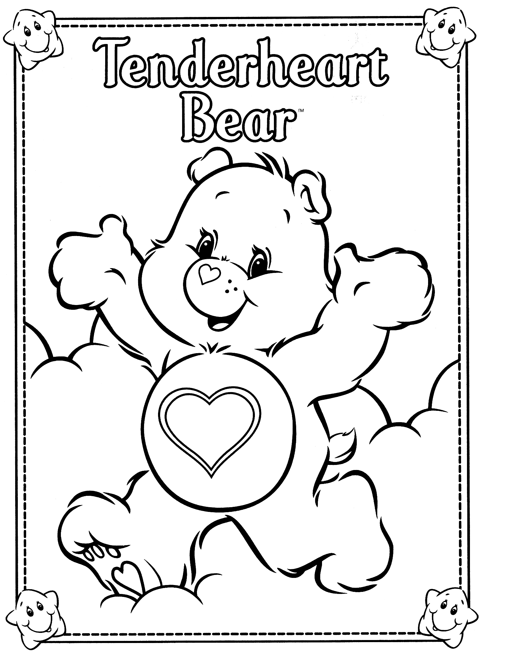 coloring pages of bears cheer bear coloring pages download and print for free of bears coloring pages