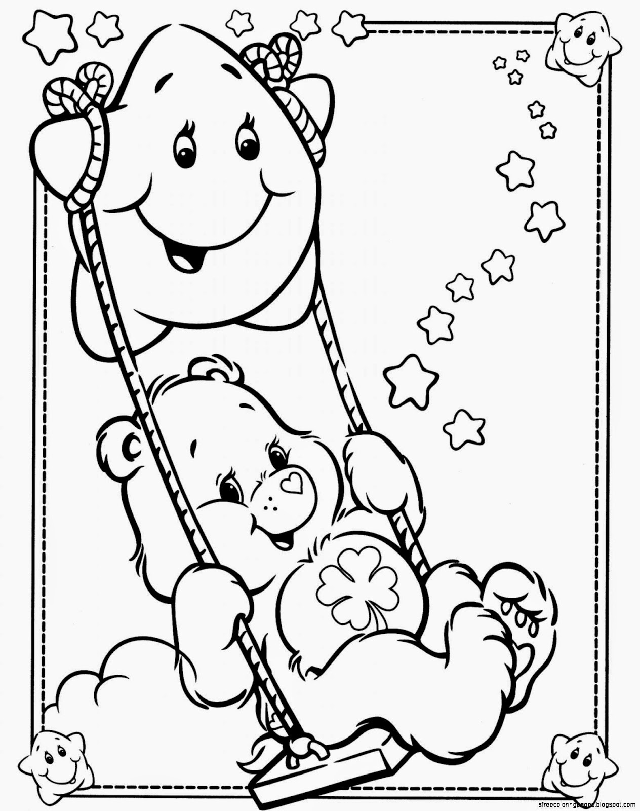 coloring pages of bears free printable care bear coloring pages for kids pages of bears coloring