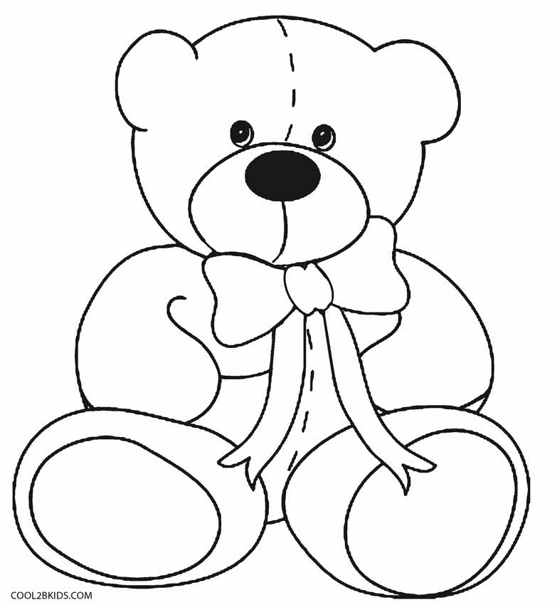 coloring pages of bears printable teddy bear coloring pages for kids cool2bkids coloring of pages bears