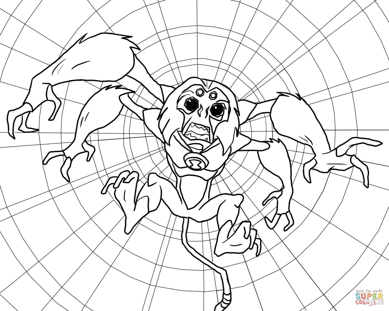 coloring pages of ben 10 aliens ben 10 alien force coloring pages swampfire coloring home aliens ben pages of 10 coloring