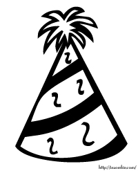 coloring pages of birthday hats birthday hat coloring page coloring pages coloring birthday hats pages of
