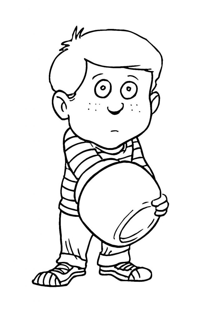coloring pages of boy coloring pages for kids boys boy pages of coloring