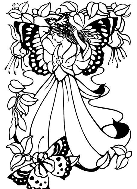 coloring pages of fairies and pixies in this beautiful picture the fairies are protecting the pixies coloring of pages and fairies