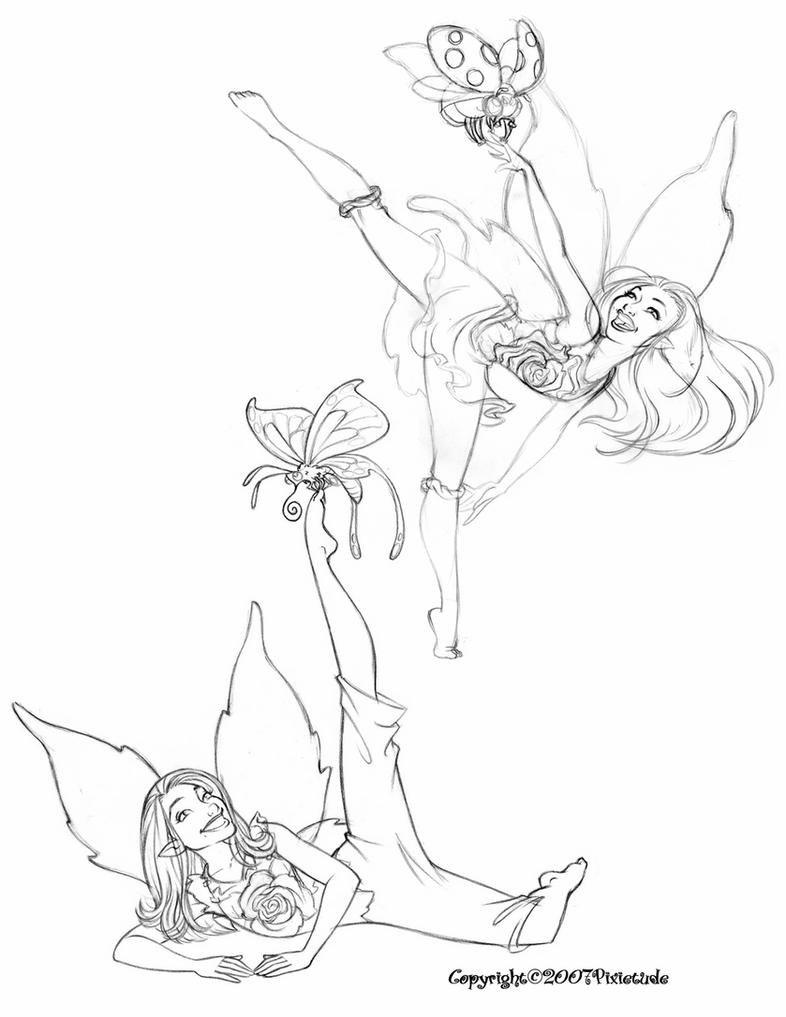 coloring pages of fairies and pixies pixie dust drawing at getdrawings free download fairies and pixies pages of coloring