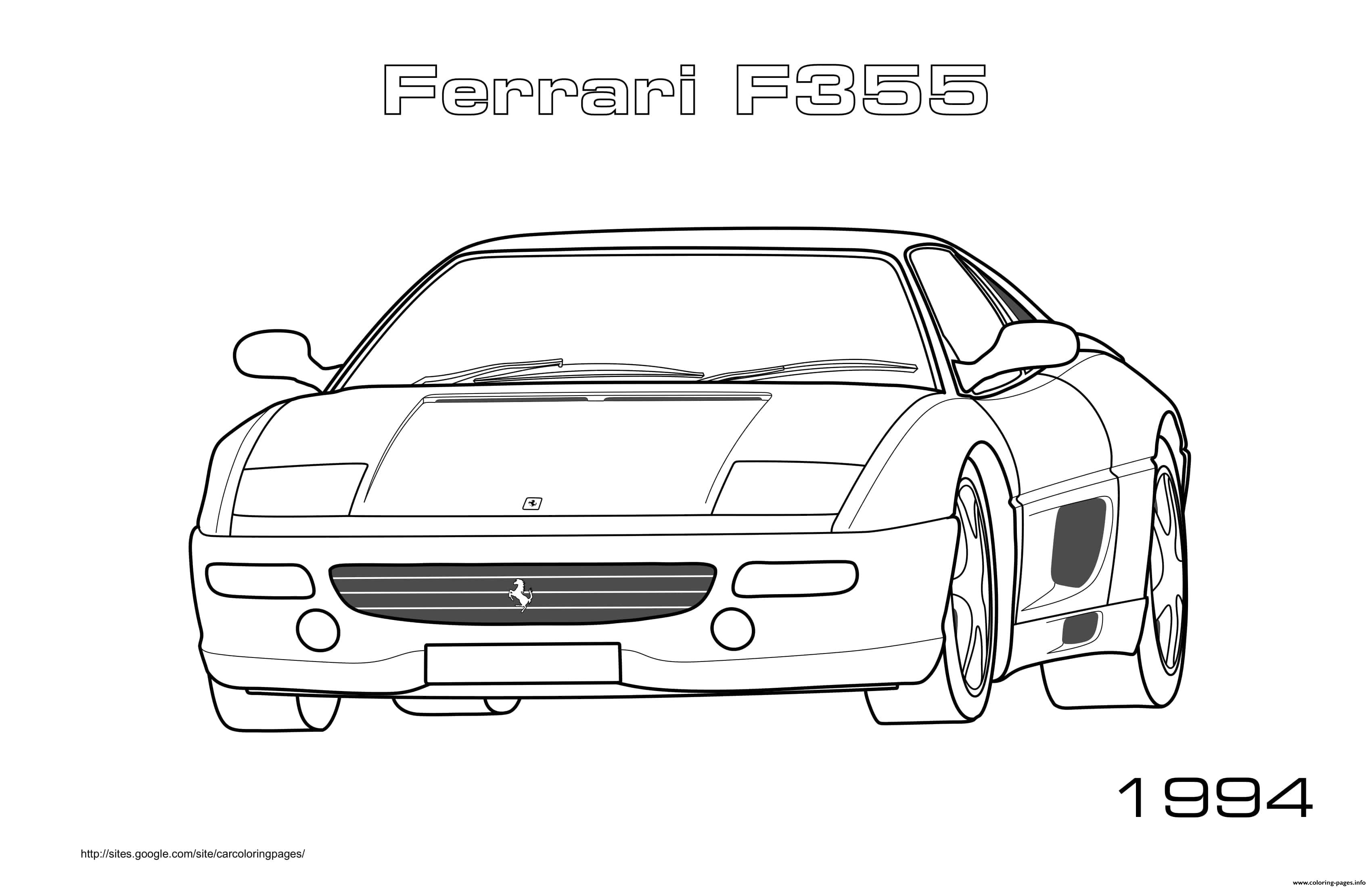 coloring pages of ferrari top speed cars enzo ferrari coloring pages kids play color coloring pages ferrari of