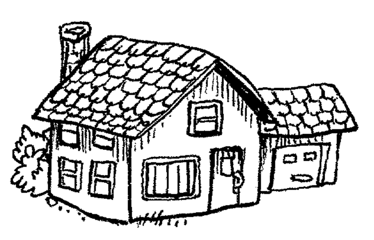 coloring pages of house free printable house coloring pages for kids house of pages coloring 1 1