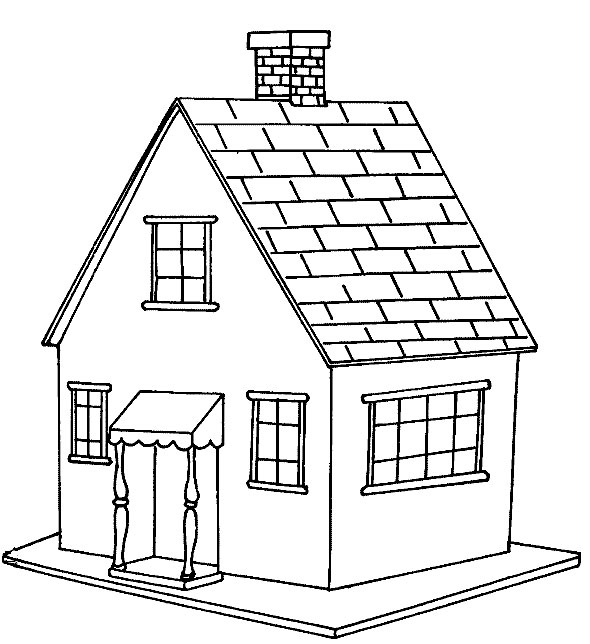 coloring pages of house free printable house coloring pages for kids of coloring pages house
