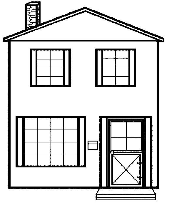 coloring pages of house house coloring pages to download and print for free of house coloring pages