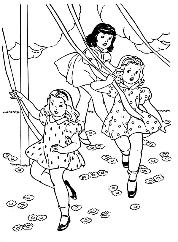 coloring pages of little girls cute little girls coloring pages coloring home pages little of coloring girls