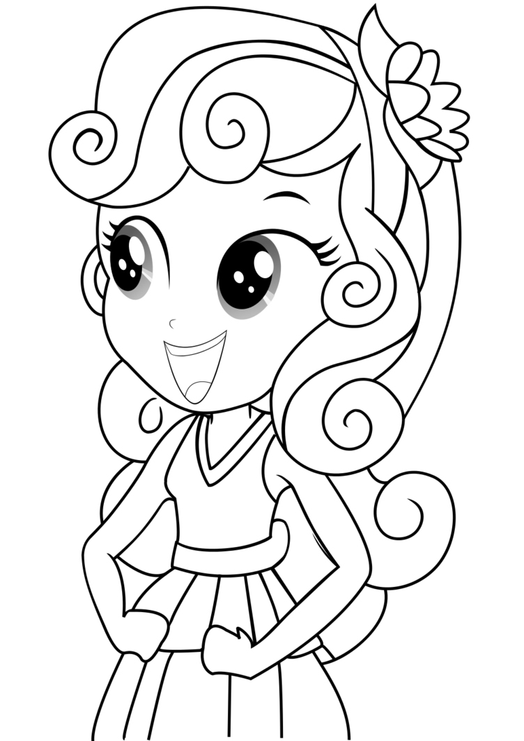 coloring pages of little girls equestria girls coloring pages best coloring pages for kids pages girls little of coloring
