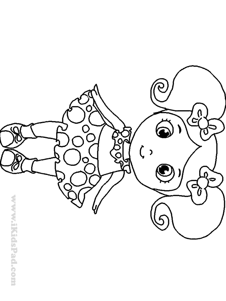 coloring pages of little girls little girl coloring pages getcoloringpagescom coloring girls of little pages