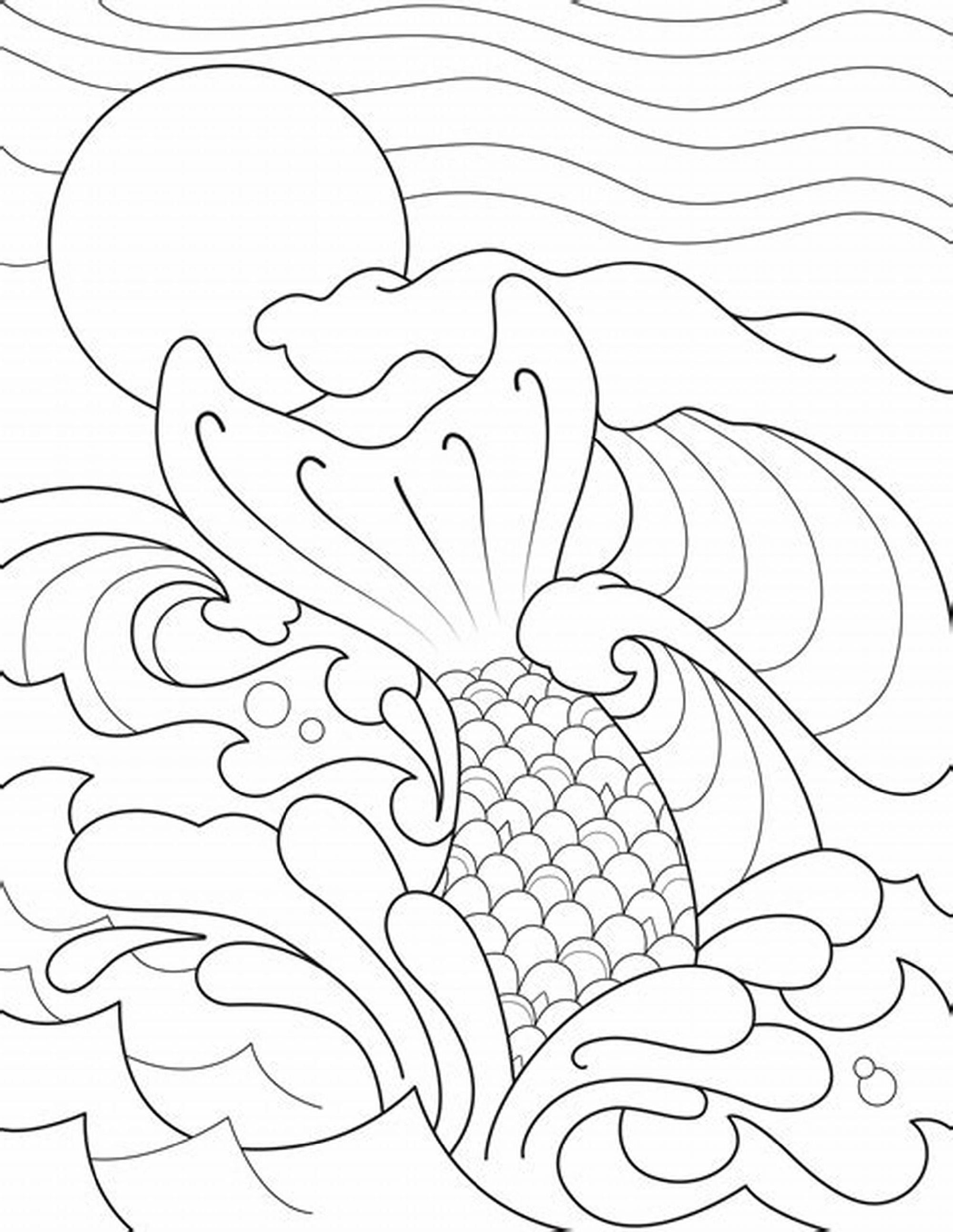 coloring pages of mermaid tails image result for mermaid tail template cumpleaños de coloring of pages tails mermaid
