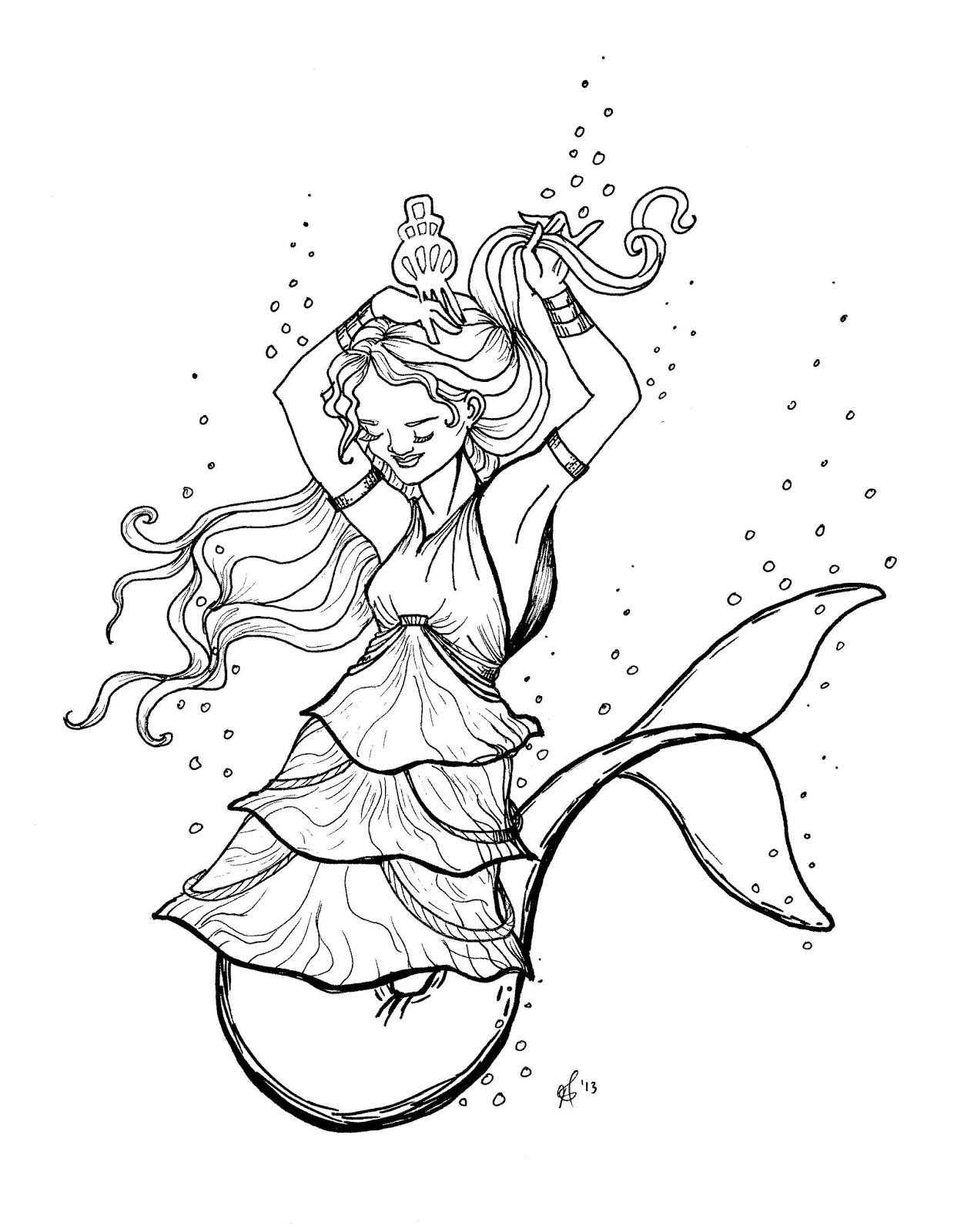 coloring pages of mermaid tails sewpaperpaint free printable mermaid tail metallic card of coloring mermaid tails pages