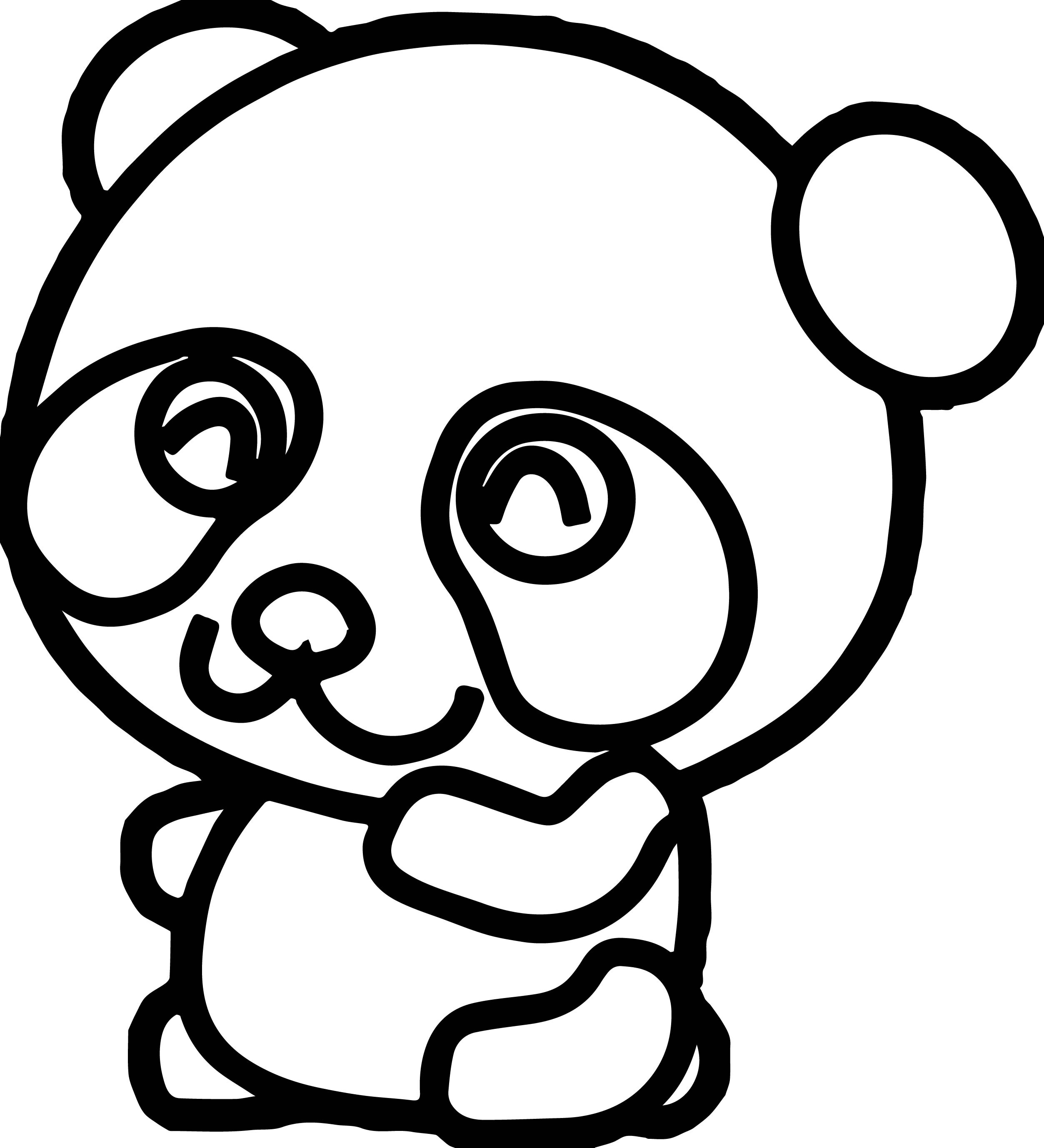 coloring pages of pandas pandas to download for free pandas kids coloring pages coloring pandas of pages