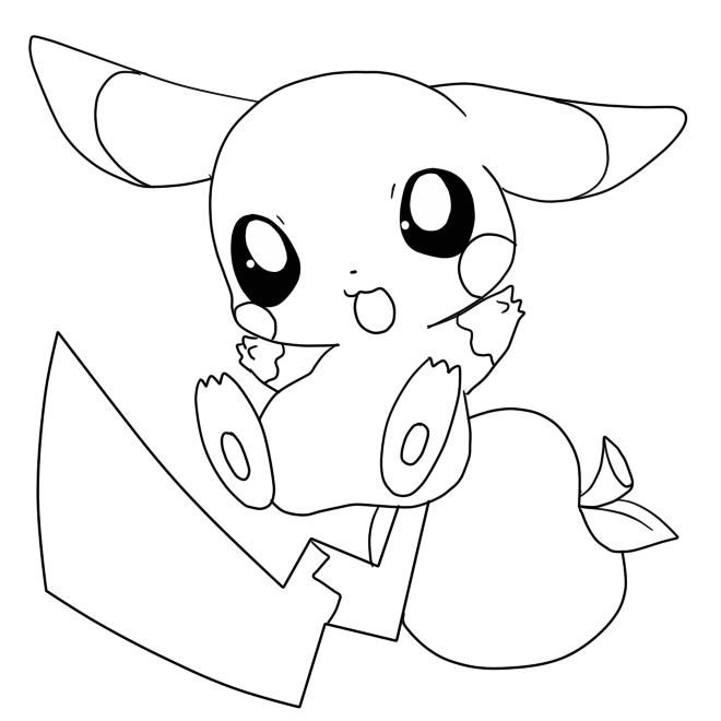 coloring pages of pikachu free printable pikachu coloring pages coloring junction pages coloring of pikachu