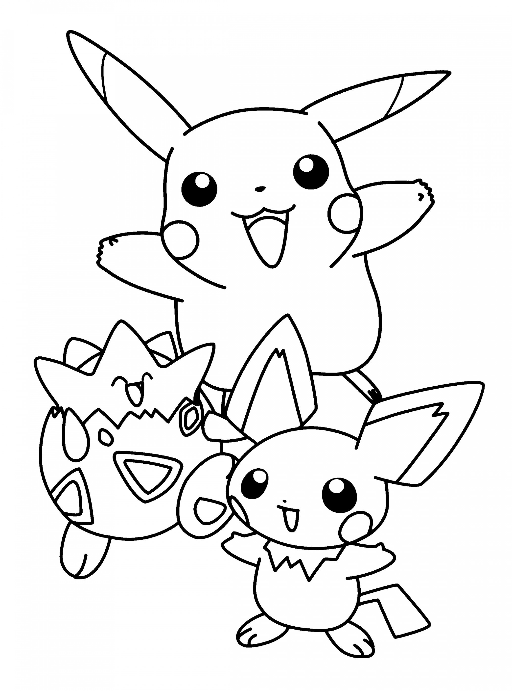 coloring pages of pikachu pikachu coloring pages to download and print for free pikachu pages coloring of