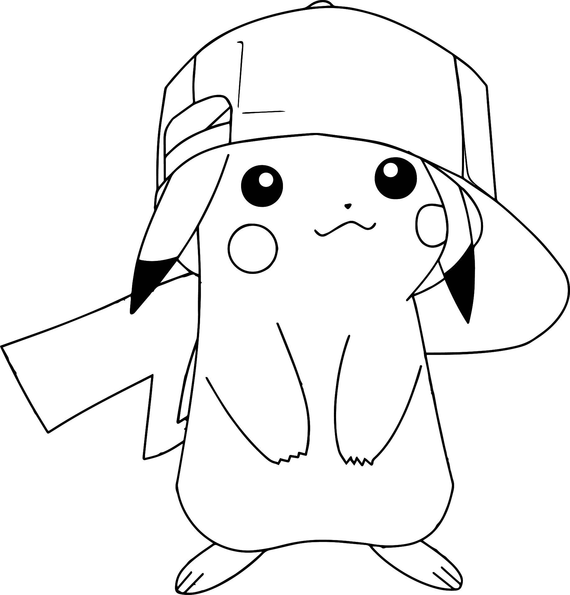 coloring pages of pikachu pokemon thunderbolt attack 10 pikachu coloring pages of pikachu coloring pages