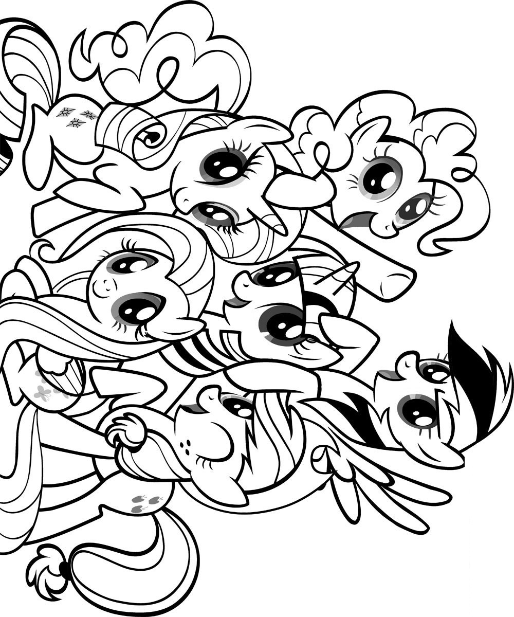 coloring pages of ponies my little pony coloring pages for girls print for free or ponies coloring of pages