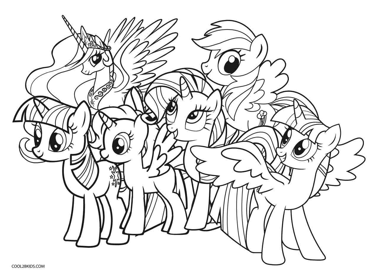 coloring pages of ponies my little pony coloring pages getcoloringpagescom pages ponies coloring of