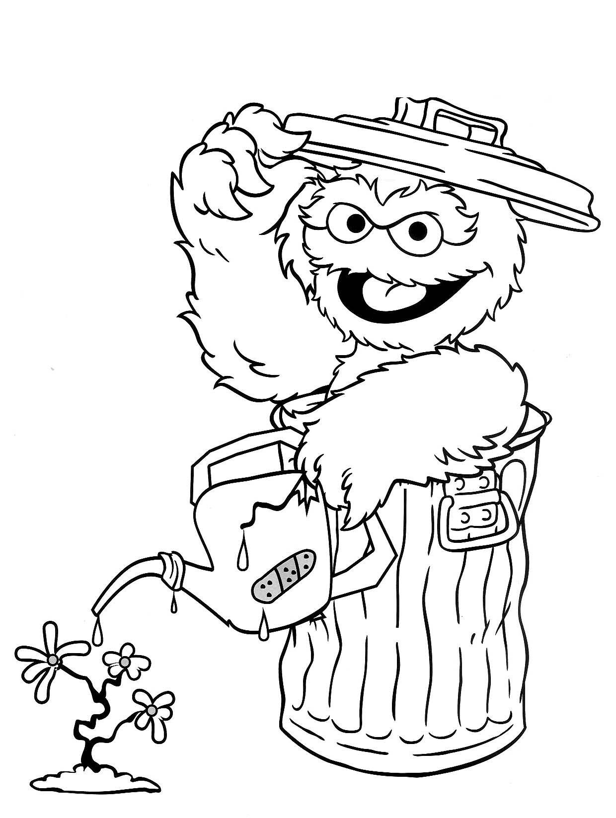 coloring pages of sesame street characters sesame street characters coloring pages at getdrawings street characters of coloring pages sesame