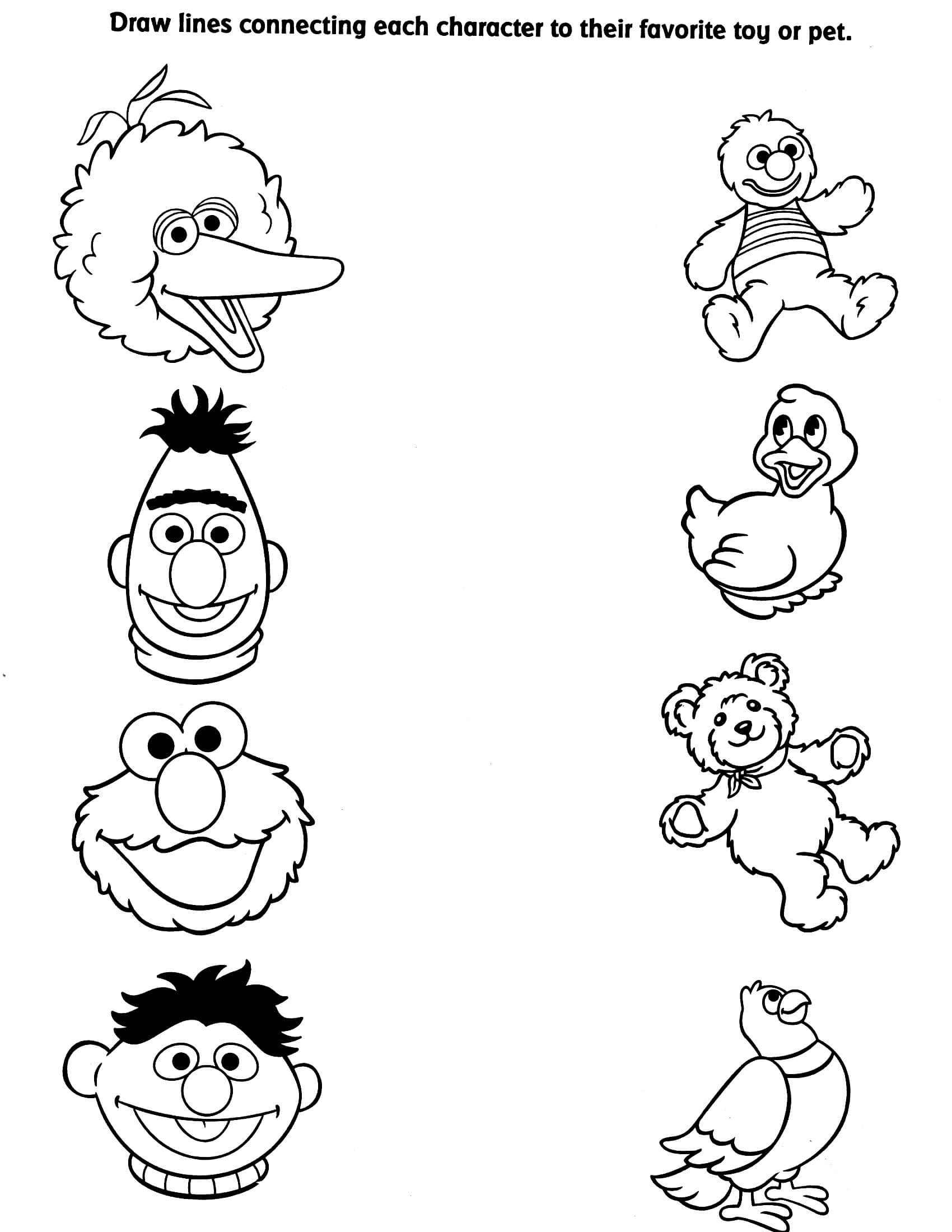 coloring pages of sesame street characters sesame street characters coloring pages to print coloring pages characters street sesame of