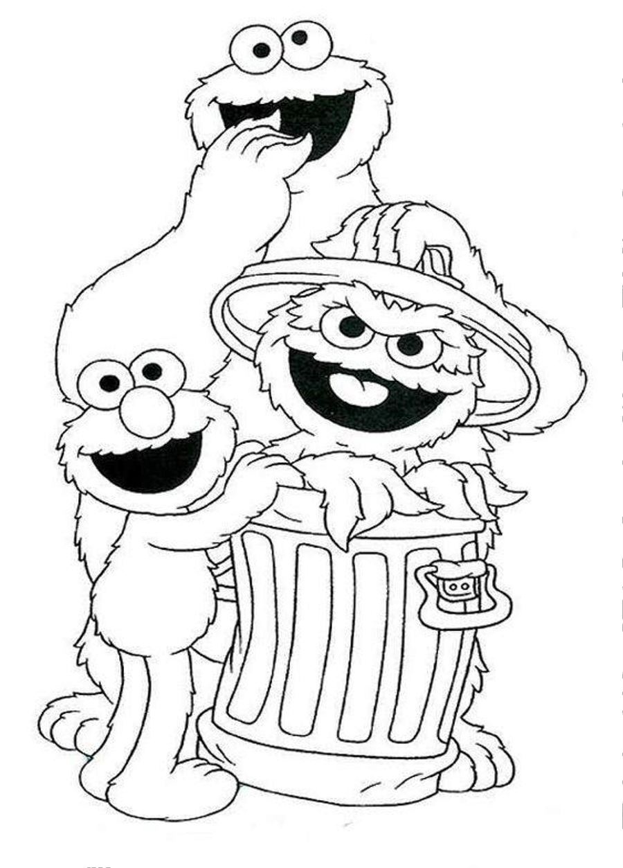 coloring pages of sesame street characters sesame street coloring pages faces coloring pages street sesame characters coloring pages of