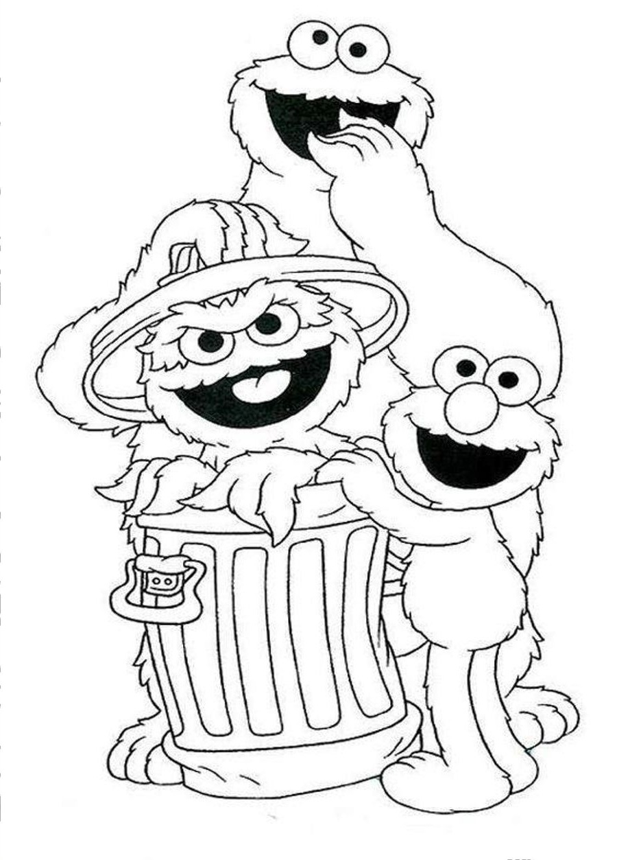coloring pages of sesame street characters sesame street coloring pages getcoloringpagescom of sesame pages characters street coloring