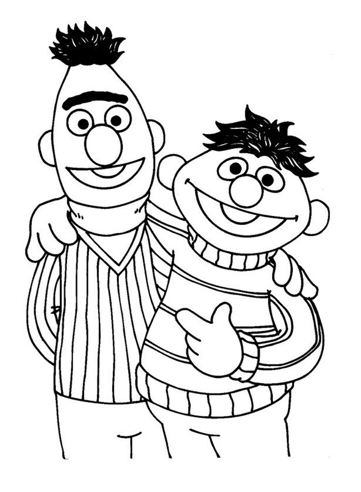 coloring pages of sesame street characters sesame street coloring pages getcoloringpagescom pages street coloring sesame of characters