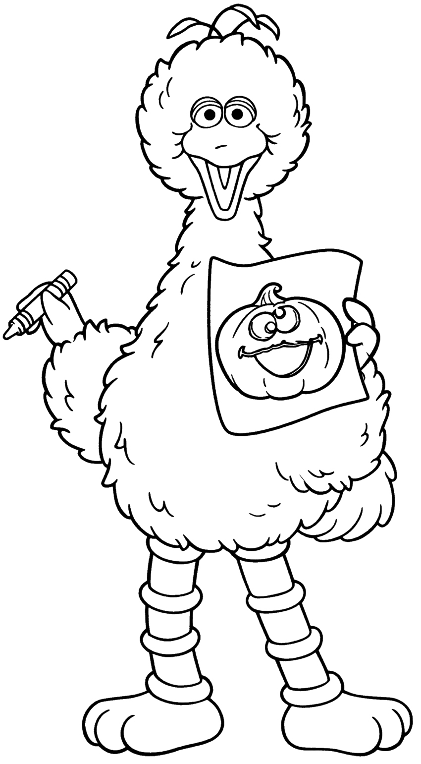 coloring pages of sesame street characters sesame street coloring pages kidsuki street coloring characters pages sesame of