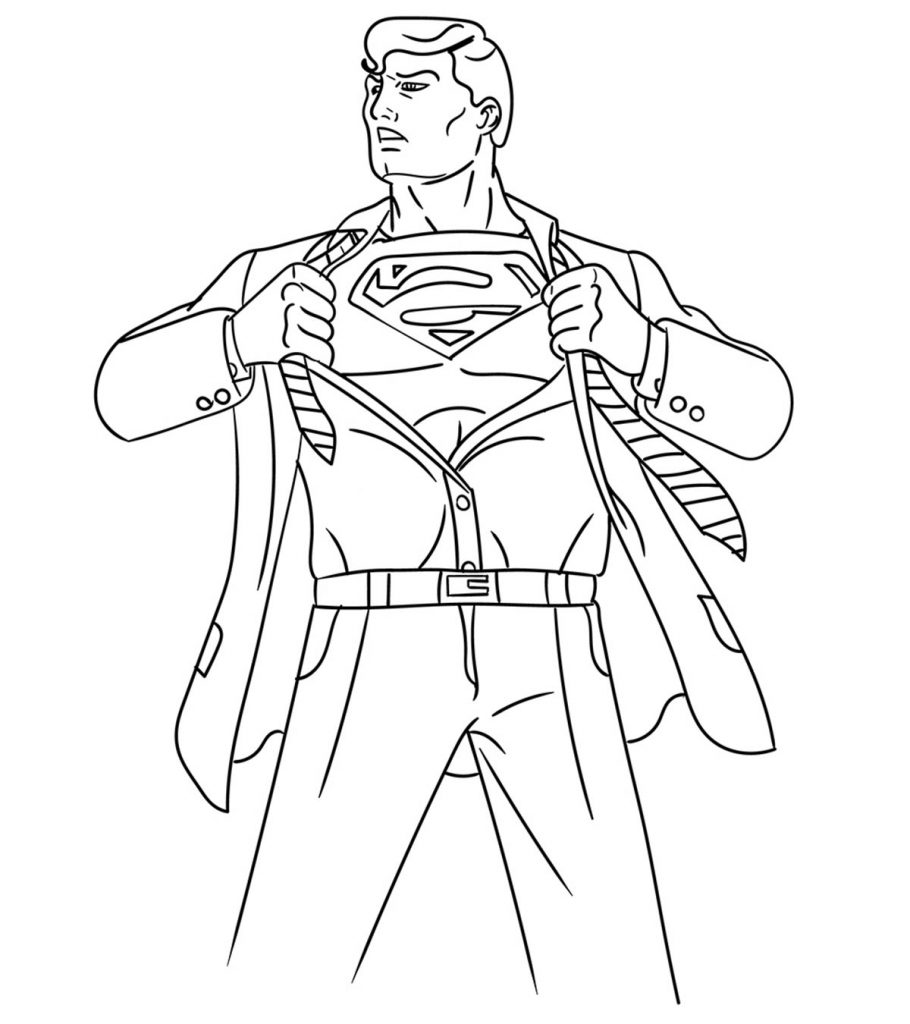 coloring pages of superman coloring pages superman pages coloring superman of