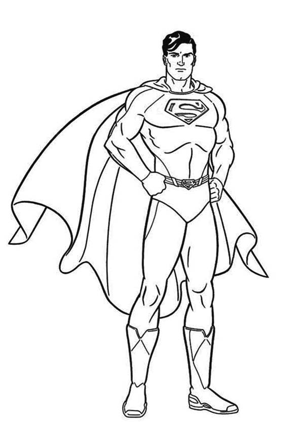 coloring pages of superman coloring supeman learn to coloring of pages superman coloring