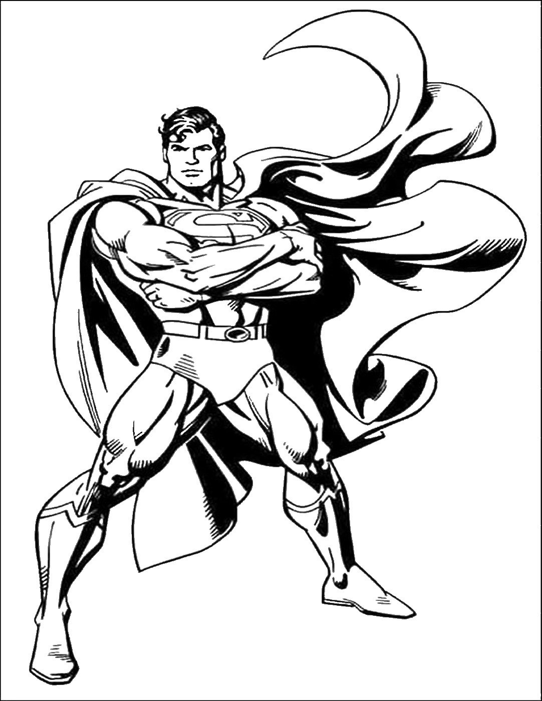 coloring pages of superman free printable superman coloring pages for kids cool2bkids coloring pages of superman