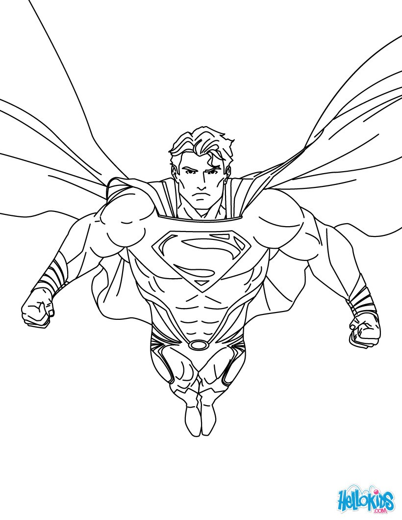 coloring pages of superman get this free superman coloring pages to print 29825 of coloring pages superman