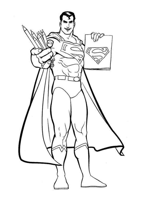 coloring pages of superman superman coloring pages coloring pages to download and print of superman coloring pages