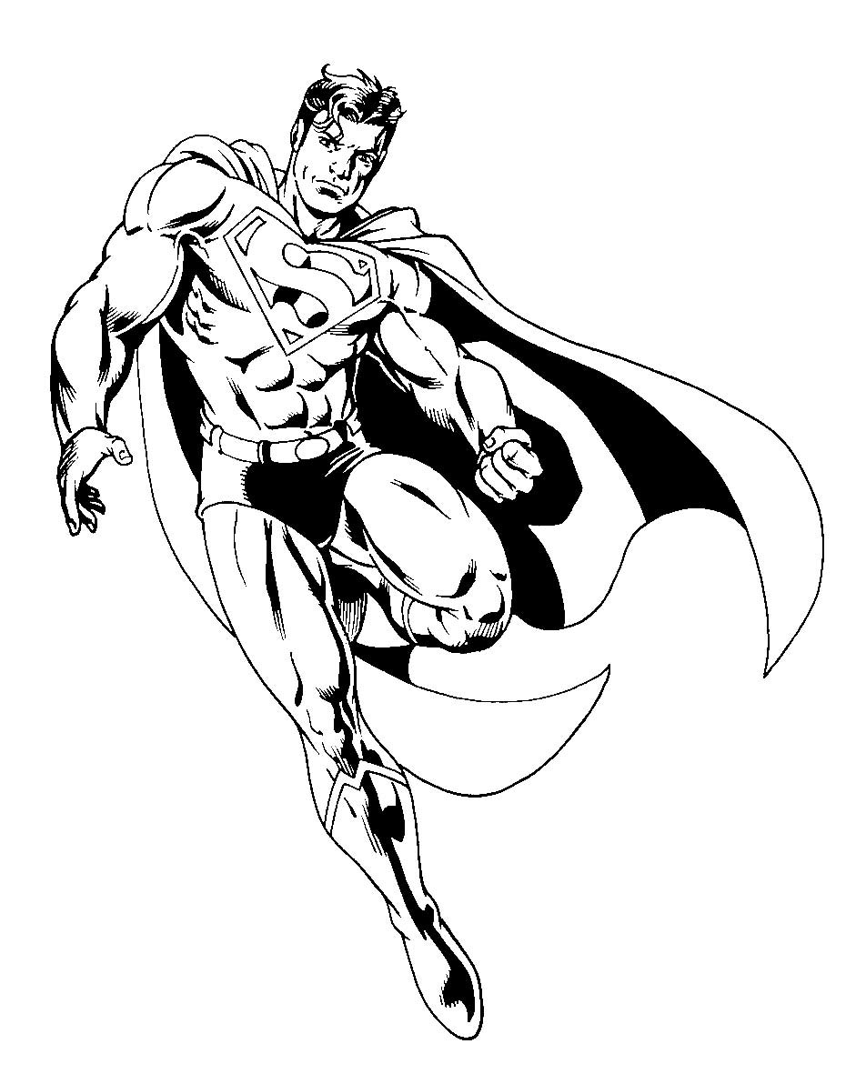 coloring pages of superman superman coloring pages fotolip pages coloring of superman