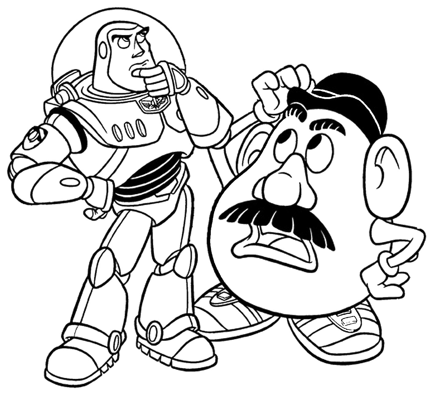 coloring pages of toy story 30 free printable toy story coloring pages pages toy coloring story of