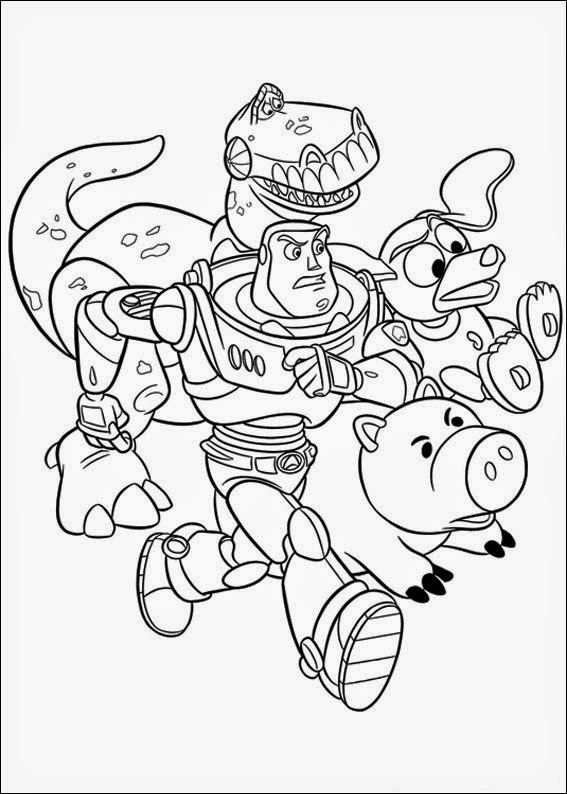 coloring pages of toy story toy story coloring pages disneyclipscom toy of pages story coloring
