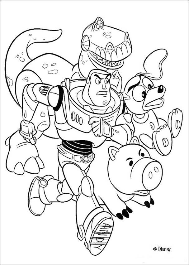 coloring pages of toy story toy story coloring pages of story pages toy coloring