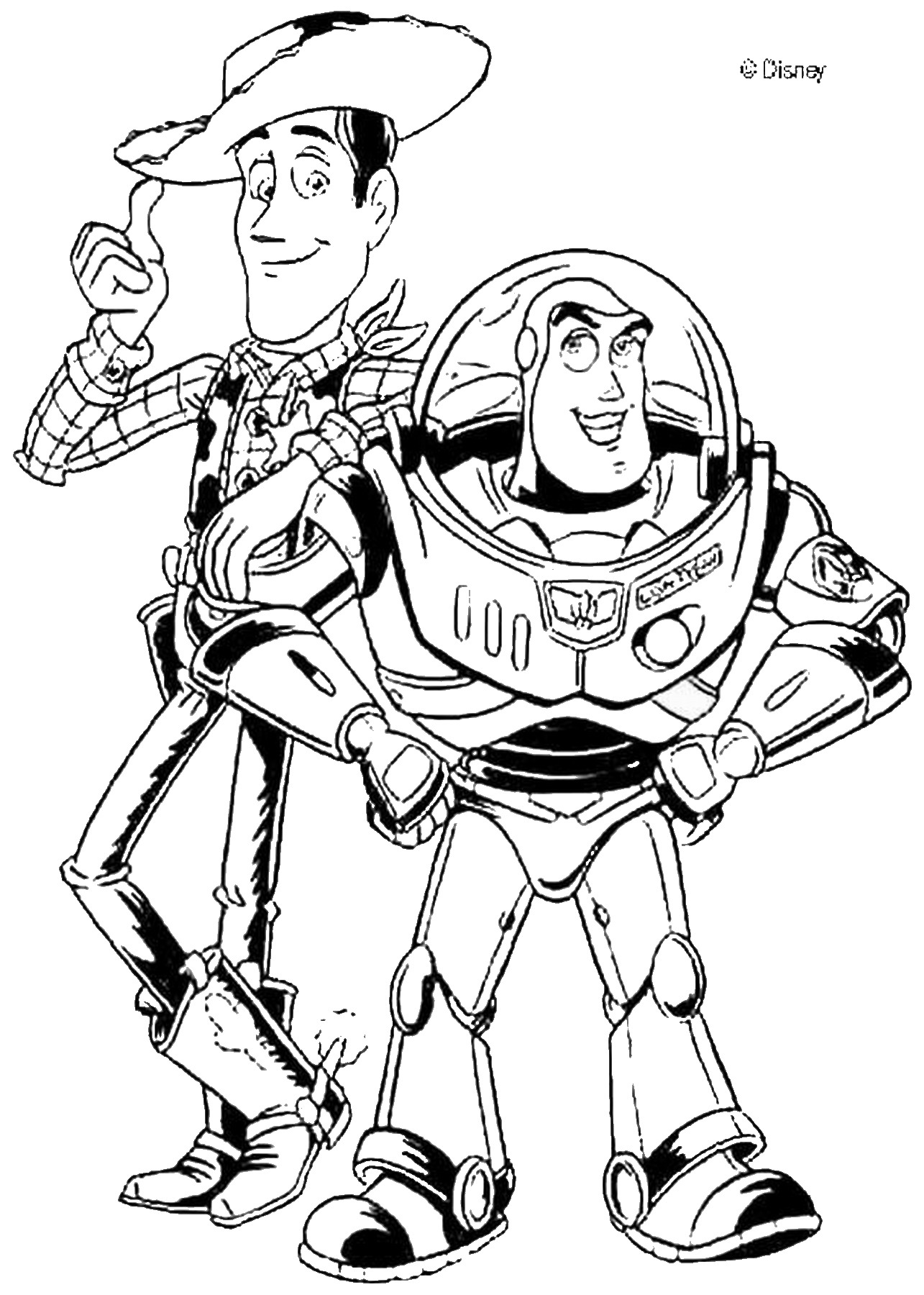 coloring pages of toy story toy story coloring pages story of coloring toy pages